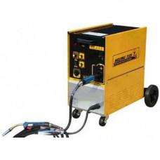 Сварочный полуавтомат инверторный 380В, 17А, сталь 0.6-1.2, алюм. 0.8-1.2, медь 0.6-1.6 GIKraft GI13115-380
