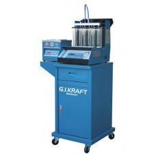 Установка для диагностики и чистки форсунок (6 форсунок, тележка, ультразвуковая ванна) GIKraft GI19112