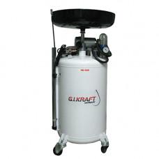 Установка для слива и откачки масла с пневмонасосом (80л.) HD-806