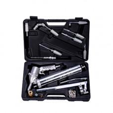 Шприц-масленка пневматический/механический с набором насадок 23ед. GIKraft K-570C