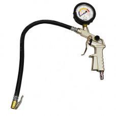 Пистолет для подкачки колес с манометром HS-B1026
