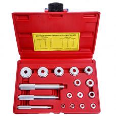 Комплект оправок для установки подшипников и сальников (17 ед)