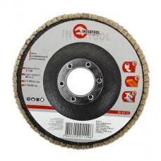 Диск шлифовальный лепестковый 115*22мм, зерно K120