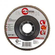 Диск шлифовальный лепестковый 115*22мм, зерно K150