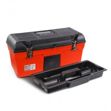 Ящик для инструмента с металлическими замками 24 610*255*251мм. Intertool BX-1123