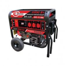 Генератор бензиновый макс. мощн. 6 кВт., ном. 5.5 кВт., 13 л.с., 4-х тактный, электрический и ручной пуск, комплект колес и ручек, 96 кг.