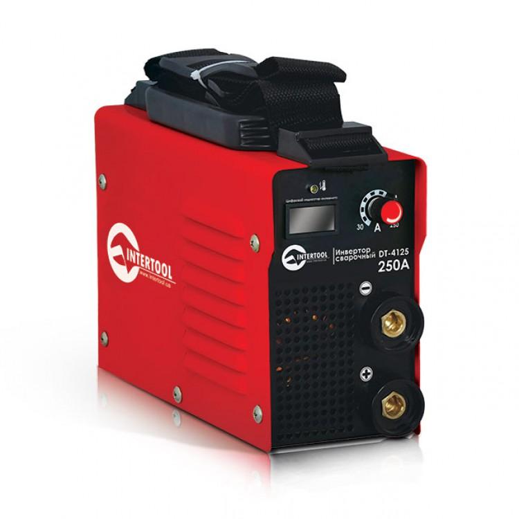 Инвертор мини 9.6кВт, 30-250А., электрод 1.6-5.0мм., IGBT, кейс.