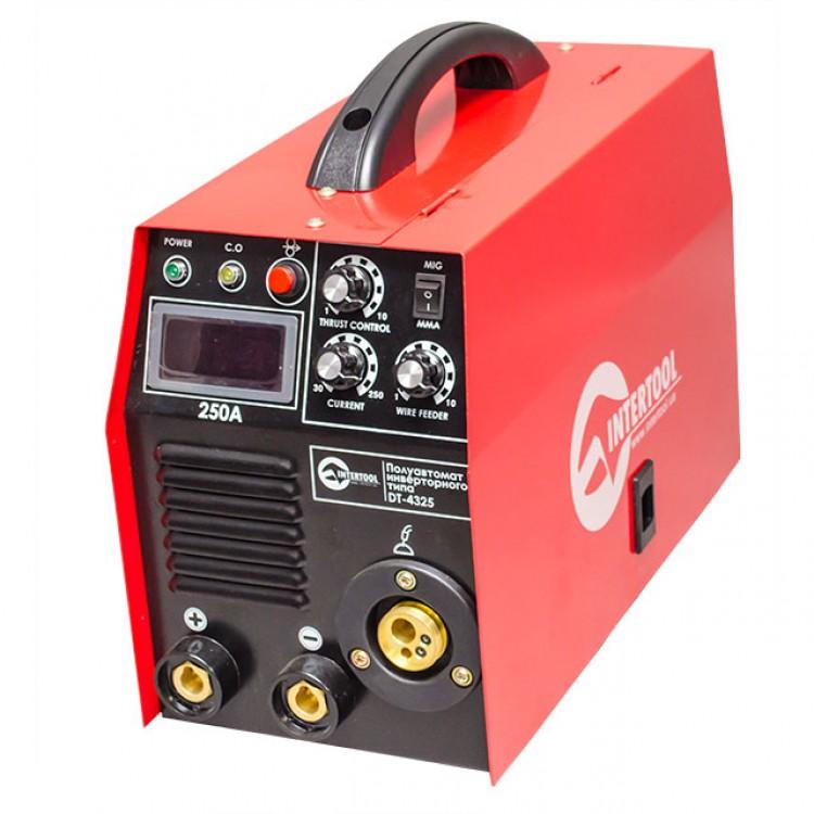 Полуавтомат сварочный инверторного типа комбинированный 7,1кВт., 30-250А., проволока 0.6-1.2мм., электрод 1.6-5.0мм.
