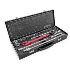 Профессиональный набор инструмента 1/2 , 25ед Intertool ET-6025