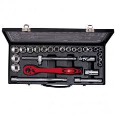 Профессиональный набор инструмента 1/2 26 ед Intertool ET-6027