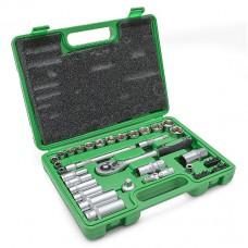 Набор инструмента 39ед. 3/8 Cr-V Intertool ET-6039SP