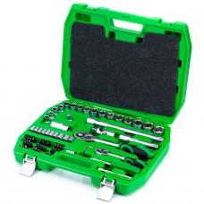 Набор инструментов 72 единицы Intertool ET-6072SP