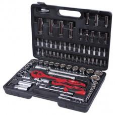 Профессиональный набор инструментов 1/2 & 1/4 94ед Intertool ET-6094