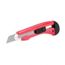 Нож прорезной усиленный с отломным лезвием-18мм HT-0501