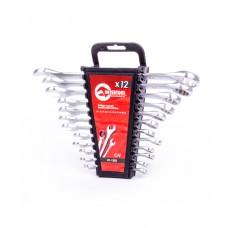 Набор ключей комбинированных 12ед., 6-22мм Cr-V HT-1203