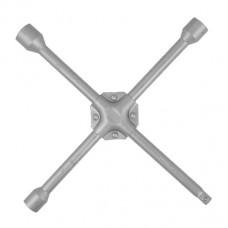 Ключ баллонный крестовой укрепленный 14 *355мм, D=16мм, 17, 19, 1/2 , 21мм Intertool HT-1604