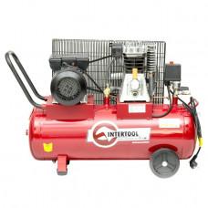 Компрессор 50л, 2.5HP, 1.8кВт, 220В, 8атм, 233л/мин. PT-0011