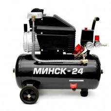 Компрессор Минск-24, 2HP, 1.5кВт, 220В, 8атм, 205 л/мин Intertool PT-0020