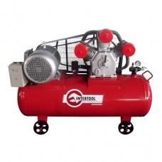 Компрессор 300л, 15HP, 11кВт, 380В, 8атм, 1600л/мин. 3 цилиндра
