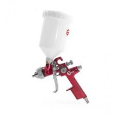Краскораспылитель 1.4мм, верхний пластиковый бачок 600мл. HVLP RED PROF Intertool PT-0104
