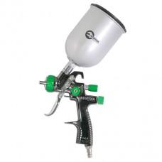 LVLP GREEN NEW Профессиональный краскораспылитель 1.3мм, верхний металлический бачок 600мл., mах 1 PT-0131
