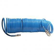 Шланг спиральный полиуретановый 5.5*8мм, 10м
