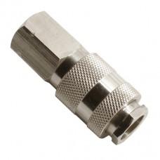 Быстроразъемное соединение с внутренней резьбой 1/4 Intertool PT-1804