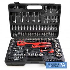 Профессиональный набор инструментов 108 предметов Intertool ET-6108