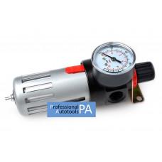 Фильтр очистки воздуха, редуктор в металле 1/2 Intertool PT-1410
