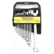 Набор рожково-накидных ключей DEHCO 12шт Kingroy 1596