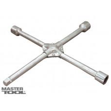 Ключ балонный крестовой усиленный 17х19х21х1/2 *16 мм Mastertool 73-0313