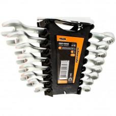 Набор ключей рожково-накидных 8 шт, гориз. Miol 51-705