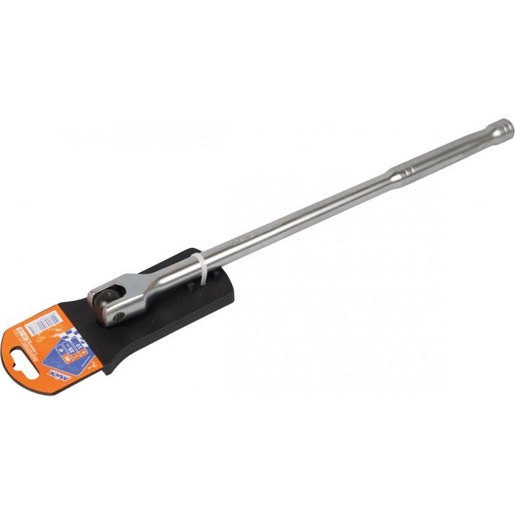 Вороток с карданом, CRV, 1/2 , 450мм Miol 58-240