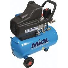 Компрессор масляный прямоприводный 'Циклон 206-24', 220V (с медн.обмоткой) +бонус (шланг , фильтр, ремкомплект) MIOL 81-152
