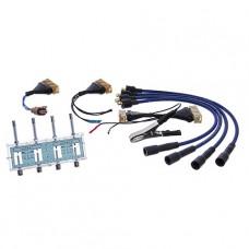 Разрядник с комплектом переходников для проверки модулей и катушек зажигания СНГ МОЛН220ПЕР