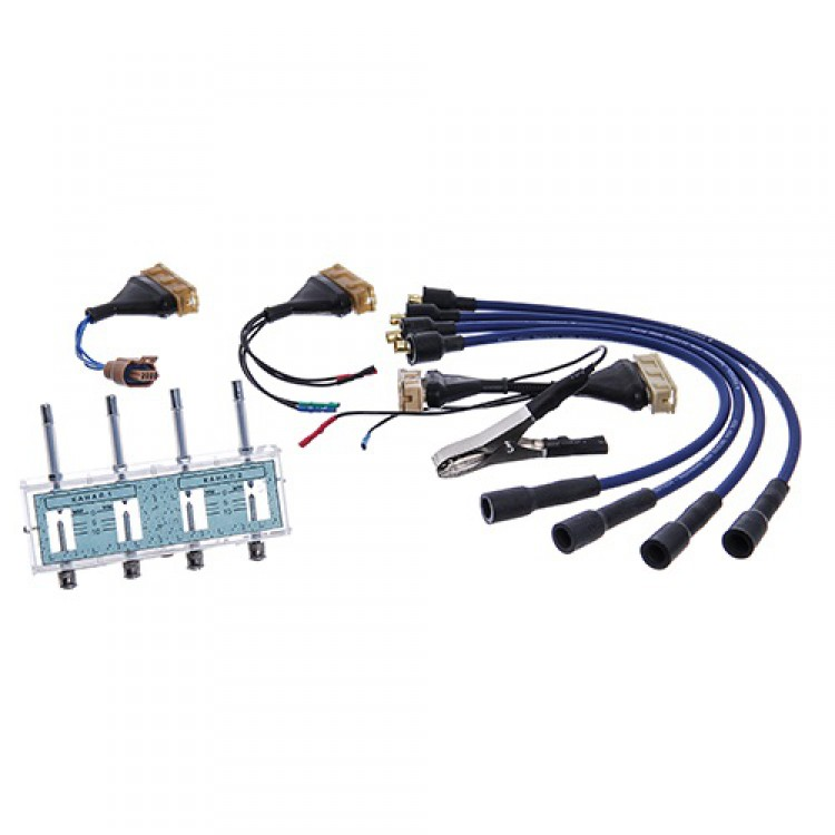 Разрядник с комплектом переходников для проверки модулей и катушек зажигания МОЛН220ПЕР