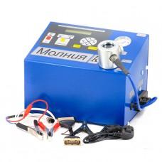 Установка для проверки свечей и коммутаторов Молния  (12В) с компрессором СНГ МОЛН
