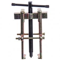Съёмник двухзахватный рельс с фиксацией усиленный 55х90мм Chrome vanadium Стандарт SK2R4U