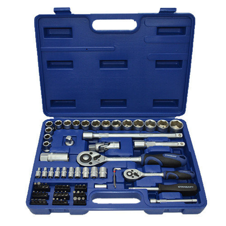 Набор инструмента комбинированный 73ед. Стандарт ST-0073