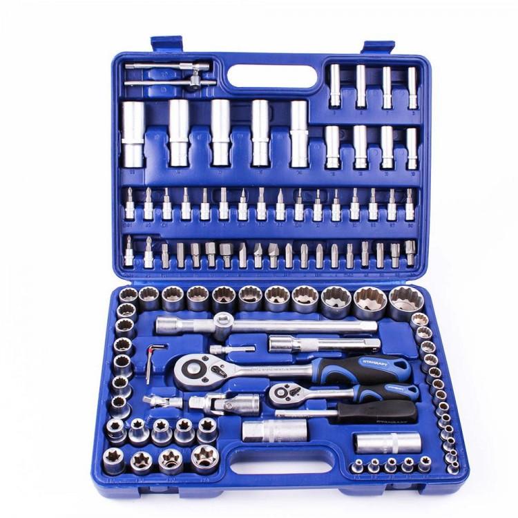 Набор инструмента 108 единиц 12-гранный Стандарт ST-0108-12
