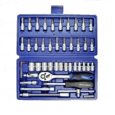 Набор инструмента 1/4 46 единиц Стандарт ST-1446