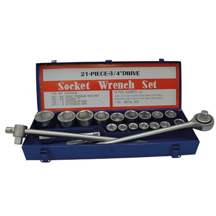 Набор инструмента 3/4, 20 единиц Стандарт ST-3420