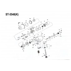 Кольцо жала гайковерта ST-5548 (металлическое)