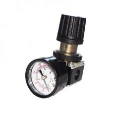 Регулятор давления с манометром для пневмосистемы 1/4 Sumake SA-20102A