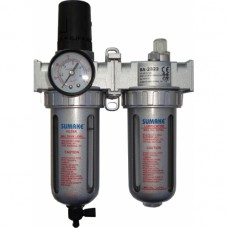 Фильтр воздушный с регулятором и лубрикатором 1/4 Sumake SA-2322