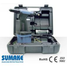Пневмогидравлический заклепочник 1/4  с комплектом приспособлений Sumake ST-66154K