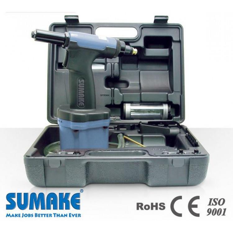 1/4 Пневмогидравлический заклепочник с комплектом приспособлений Sumake ST-66154K