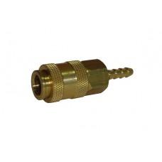 Быстроразъем для пневмосистемы елка (3 в 1) 1/4 6 мм Sumake UDC20H