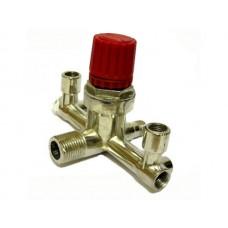 Контрольно-распределительный блок компрессора с регулятором давления PAtools КомпРога1 (158)