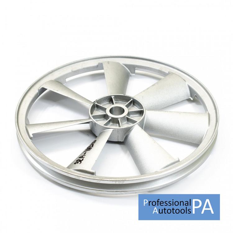 Шкив к компрессору одинарный диаметр 310 мм. (Алюминий) PAtools 32А-1A310